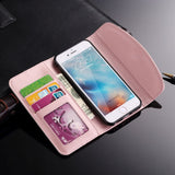 Luxury Women Lovely Wallet Leather Case For iPhone Xr X Xs 11 Pro Max iPhone 7 8 6S 6 Plus 5C 5 S SE - Now Sellers