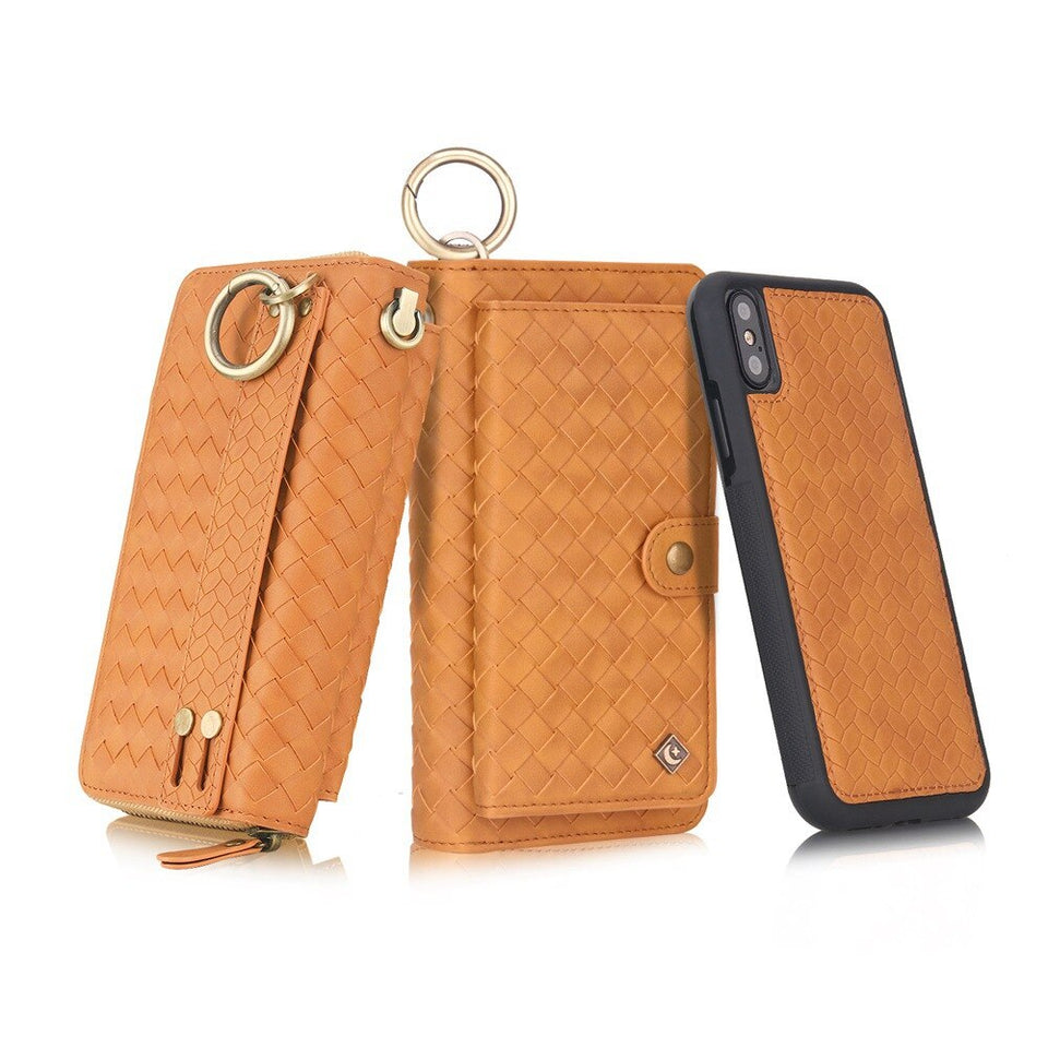 Business Wallet Phone Cases For iPhone XS XR XS MAX X Case For iPhone 7 8 Plus Leather Capas For iPhone 6 6s 7 8 Plus - first-sellers