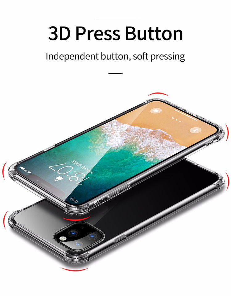 Soft Transparent Silicone Case for iPhone 11 2019 on iPhone Pro Max iPhone XR X XS Max 7 8 - Now Sellers