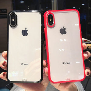 Bumper Transparent Silicone Phone Case For iPhone 11 Pro X XR XS Max 8 7 6 6S Plus - Now Sellers
