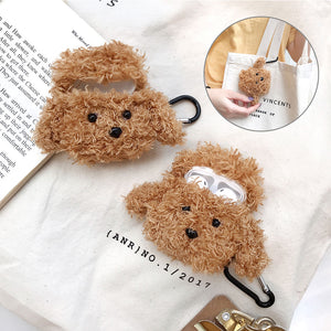 Knitted plush Anti-lost Protective Cover For Air-Pods 1/2 - Now Sellers
