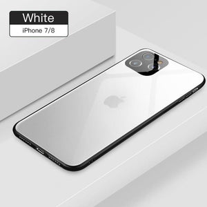 Tempered Glass case For iPhone 11 iPhone 11 Pro MAX iPhone X XS MAX XR 7 8 Plus - Now Sellers