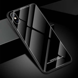 Luxury Tempered Glass Soft For iPhone 7 8 iPhone X XS Max XR iPhone 6 6S - Now Sellers