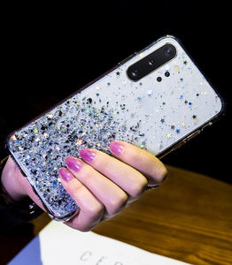 Bling Glitter Star Cover For Samsung Galaxy A10 A10S A20 A20S A20E A30 A30S A40 A40S A50 A50S S8 S9 S10 S20 Plus A9 A7 2020 Case - Now Sellers