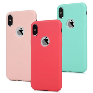 Fashion Soft Silicone Candy Pudding Cover For iPhone X 11 Pro 11Pro 8 7 6 Plus Xr Xs Max - Now Sellers
