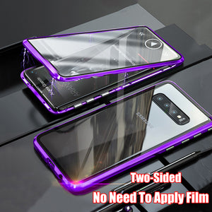 360 Magnetic Case For Samsung S7 Edge S8 S9 S10 Plus Note 8 9 10 Pro A7 A8 A9 A10 A30 A60 A70 A80 A50 - Now Sellers