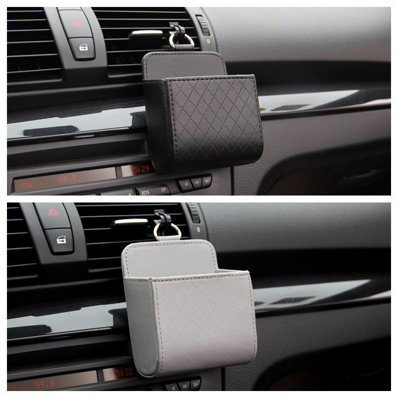 Car Organizer Box Bag Air Outlet Car Mobile Phone Holder In Automobile Interior Accessories - Now Sellers