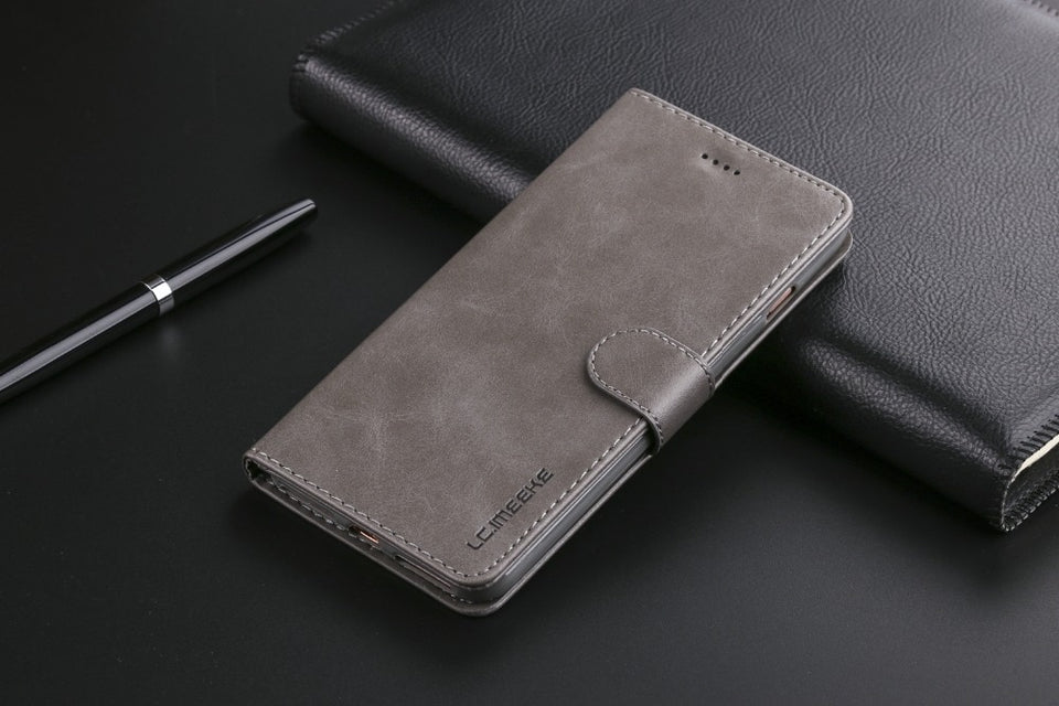 Leather Flip Case For iPhone 6 s 7 8 plus iPhone x XS Max XR Wallet Cover iphone 6s Case - Now Sellers
