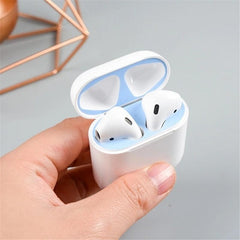 Sticker For Apple AirPods Case Box Dust-proof Super Thin 0.04mm Inside Magnet Absorption - first-sellers