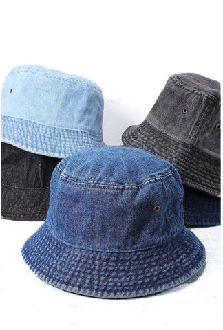 Restock Denim Bucket Hat