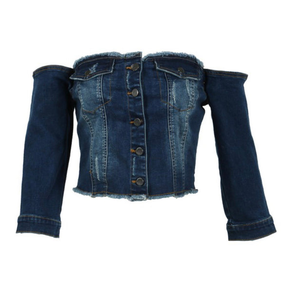 Shake It Off Denim Jacket