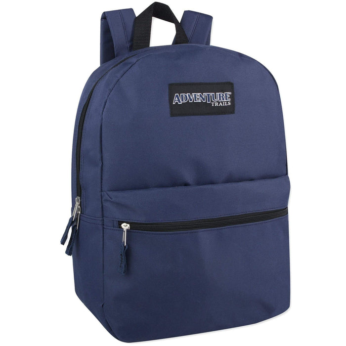 Wholesale Adventure Trails 17 Inch Backpack - 8 Colors