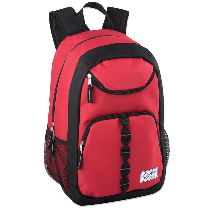 wholesale backpack in red