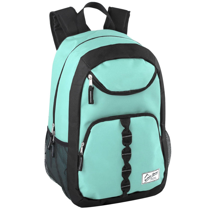 wholesale backpack in aqua