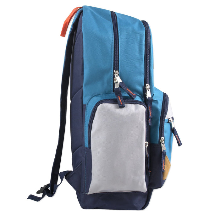 wholesale laptop backpack in blue