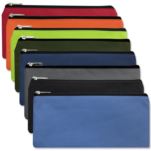 Wholesale pencil pouch in assorted colors