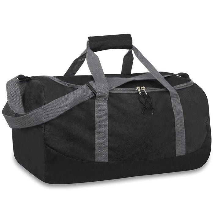 wholesale duffel bag in color black