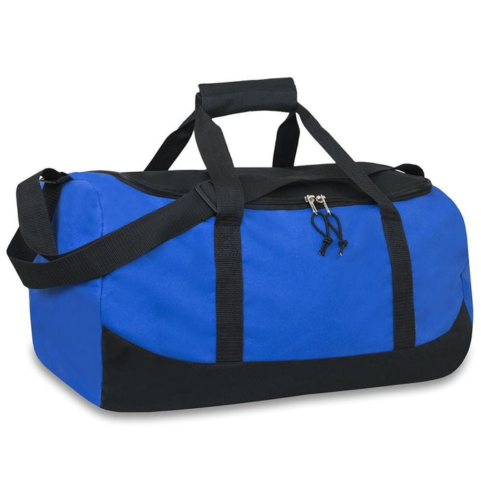 wholesale duffel bag in color blue