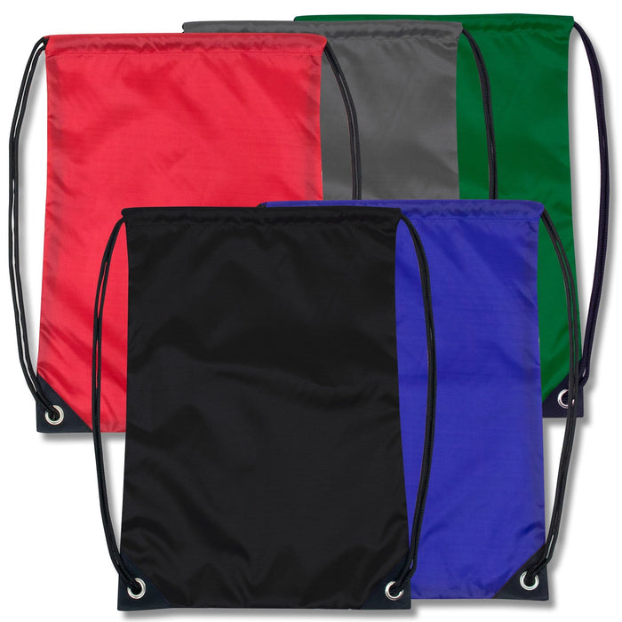 wholesale drawstring backpack in assorted colors