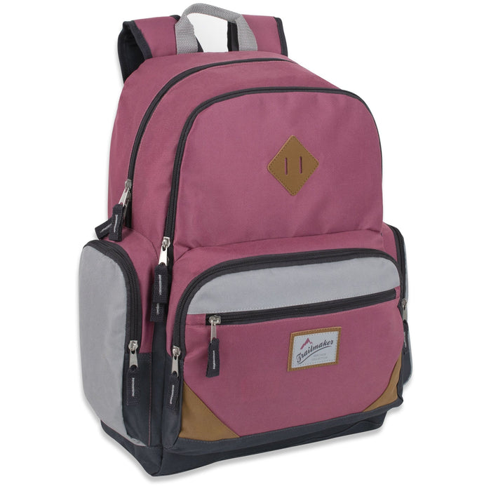 wholesale laptop backpack in pink