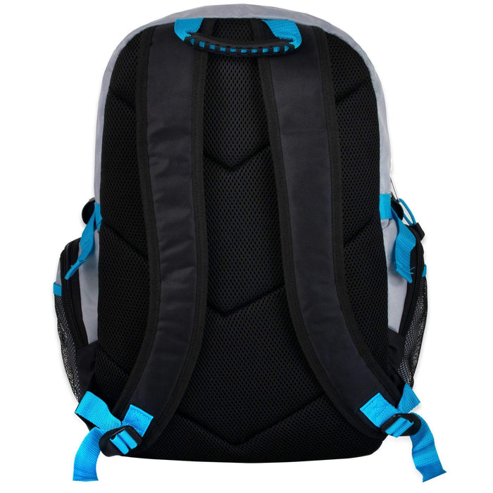 Wholesale 19 Inch Mountain Edge Multi Pocket Daisy Chain Backpack With Laptop Sleeve - 3 Colors-bagsinbulk-ca