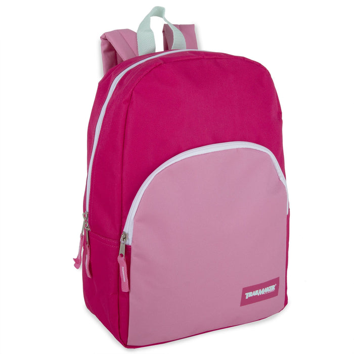 Wholesale 15 Inch Promo Backpack - 3 Color Girls Assortment
