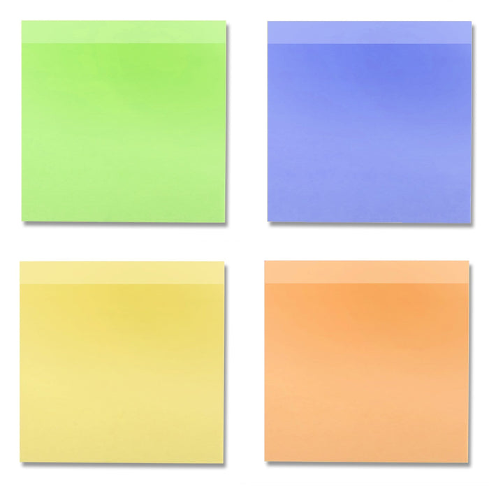 Wholesale Sticky Notes Assorted Colors