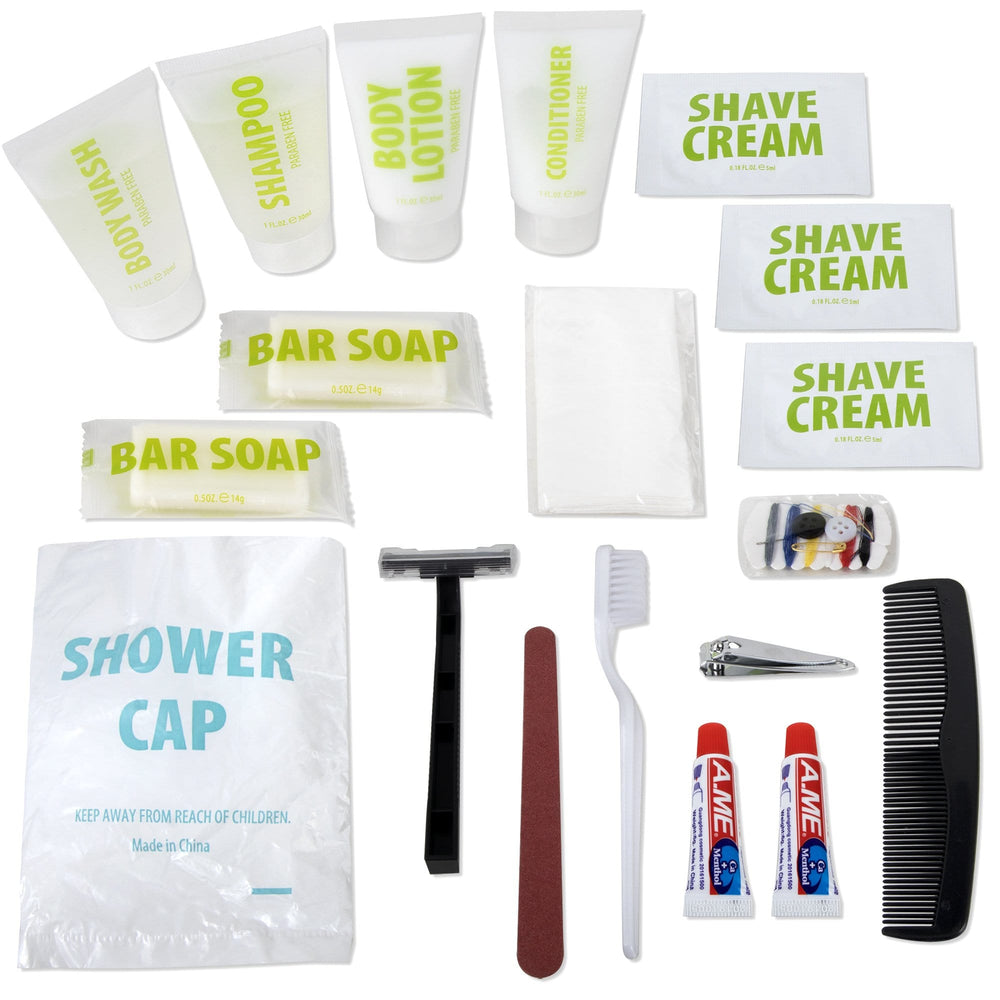Wholesale Deluxe 20 Piece Hygiene Kit