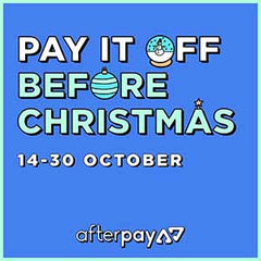 Pay it off before Christmas