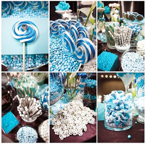 Candy Buffet Packages for 25 guests at $4 each.