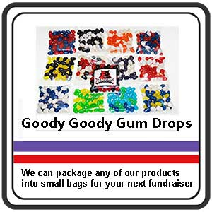 Goody Goody Gum Drops - Jelly Beans in club colours
