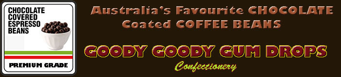 Goody Goody Gum Drops - Chocolate coated coffee beans