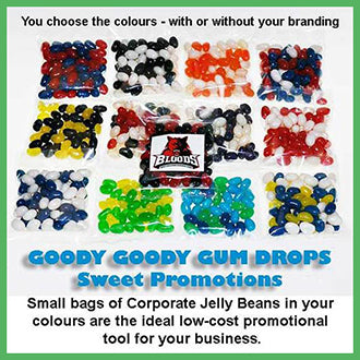 Low cost promotional lolly bags for your business | Goody Goody Gumdrops