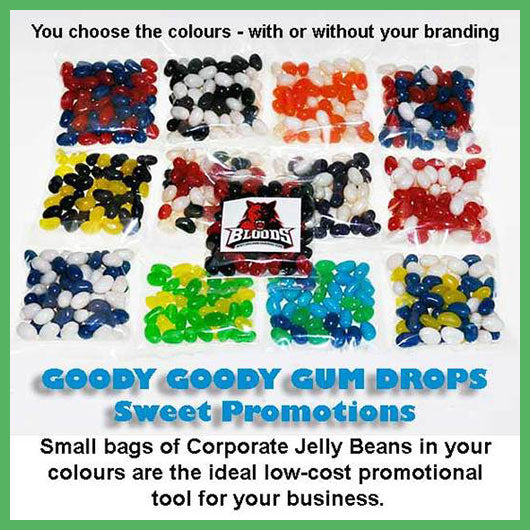 Low cost promotional lollies for your business.