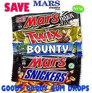 Goody Goody Gumdrops - Chocolate bars