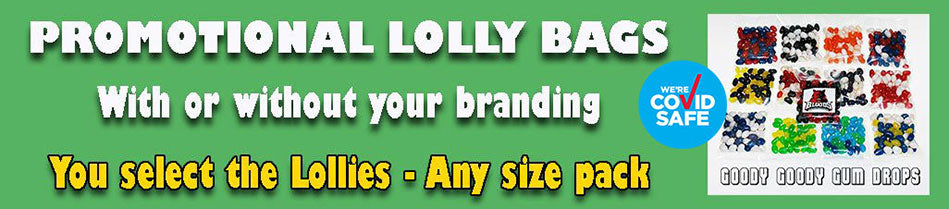 Low cost Promotional lolly bags for your business