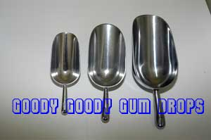 Metal Lolly Scoops - Goody Goody Gum Drops