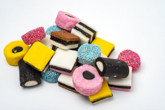 Goody Goody Gumdrops Licorice allsorts