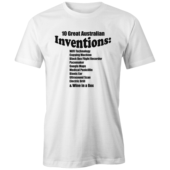 10 Great Australian Inventions - AS Colour Organic Men's Tee |