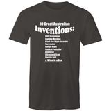 10 Great Australian Inventions - Sportage Surf - Mens T-Shirt - Goody Goody Gum Drops