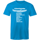 10 Great Australian Inventions - Sportage Surf - Mens T-Shirt - Goody Goody Gumdrops
