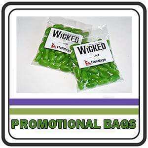 50 Gm bags of Promotional Jelly Beans with Your Branding - Quick despatch time. - Goody Goody Gumdrops
