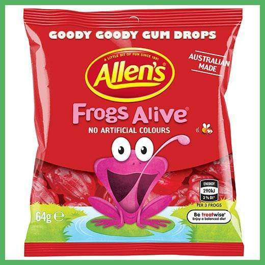 Allen's Jelly Mini Packs (20 x small bags) - Goody Goody Gum Drops