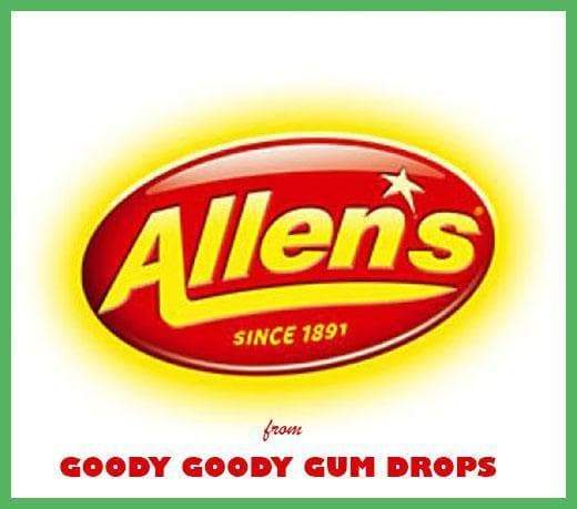 Allen's Lollies Promotional Bags for your business (20 x 50 Gm Bags) - Goody Goody Gum Drops