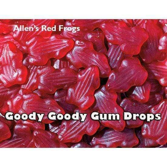 Red Frogs (2 per bag) witRed Frogs (2 per bag) with custom label - h custom label - 200 x Bags |