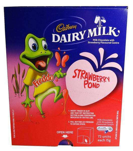 Freddo Frogs - Strawberry - Box of 72 |
