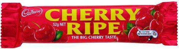 Cherry Ripe 48 x 52 Gm Bars - Goody Goody Gum Drops