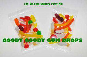Cadbury Party Mix Lolly Bags 60 Gm - Goody Goody Gum Drops