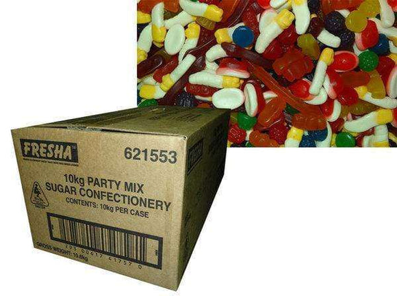Cadbury Party Mix 10Kg Bulk Box - Goody Goody Gum Drops