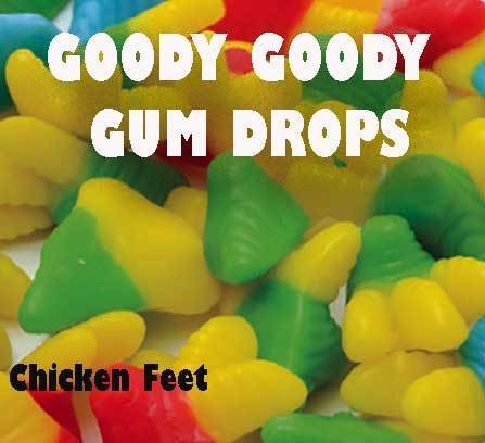 Chicken Feet Gummis 2 Kg - Goody Goody Gum Drops
